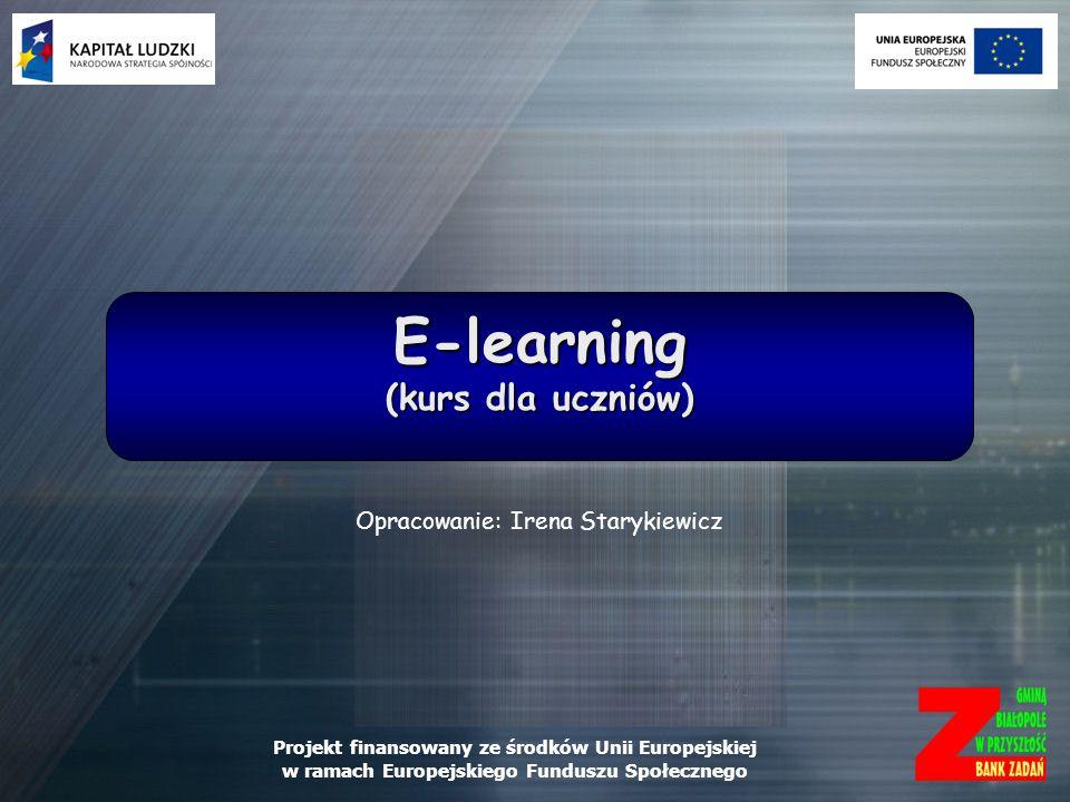 E-learning (kurs dla uczniów)