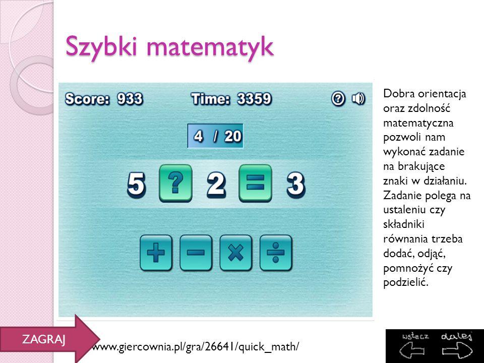 Szybki matematyk