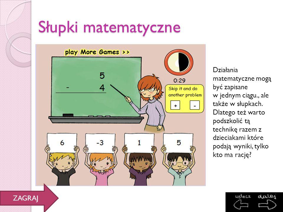 Słupki matematyczne