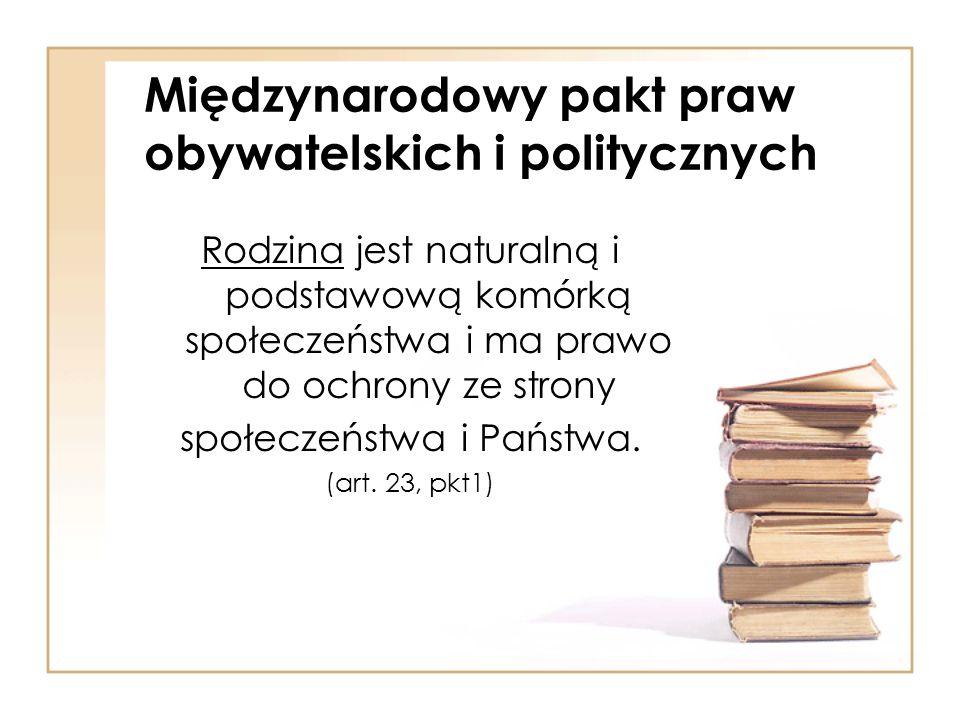 Międzynarodowy pakt praw obywatelskich i politycznych