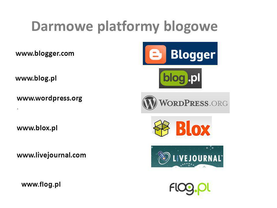 Darmowe platformy blogowe