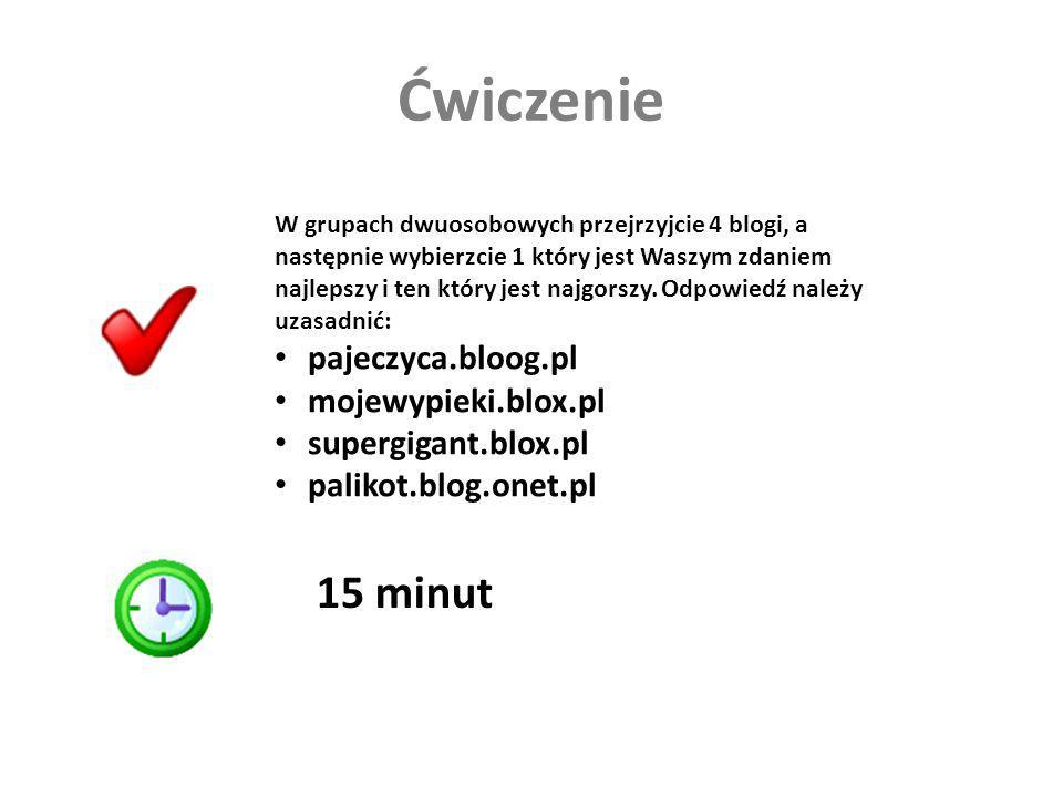 Ćwiczenie 15 minut pajeczyca.bloog.pl mojewypieki.blox.pl