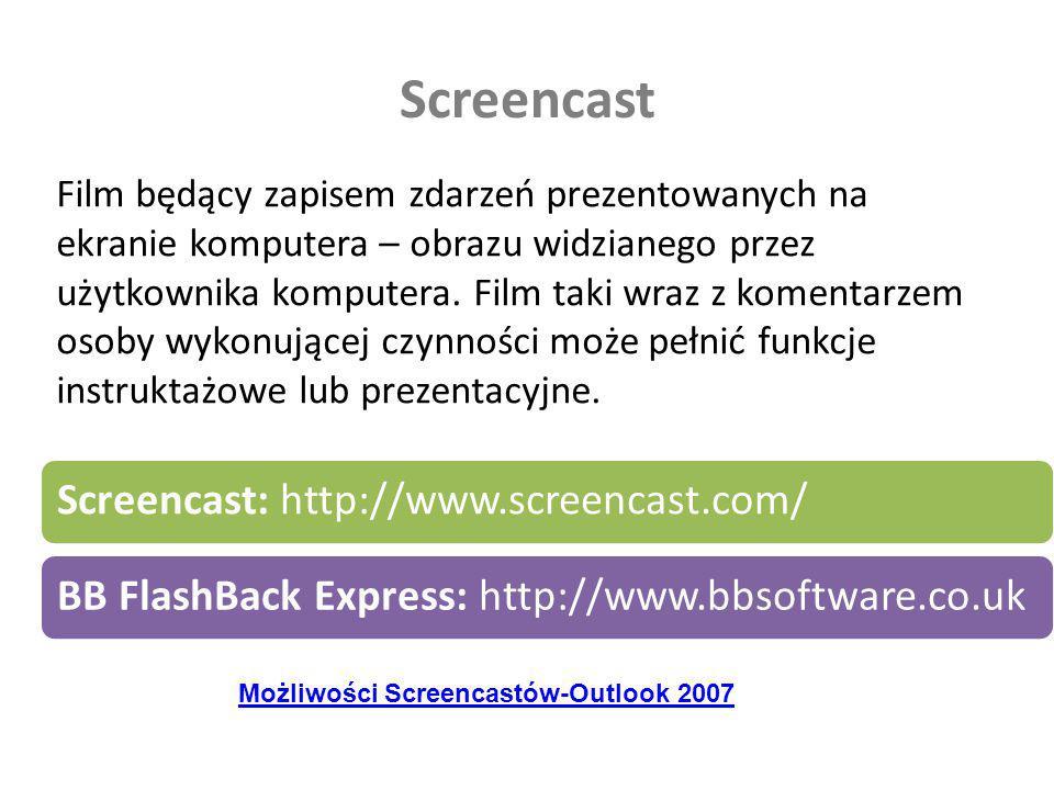 Screencast Screencast: http://www.screencast.com/