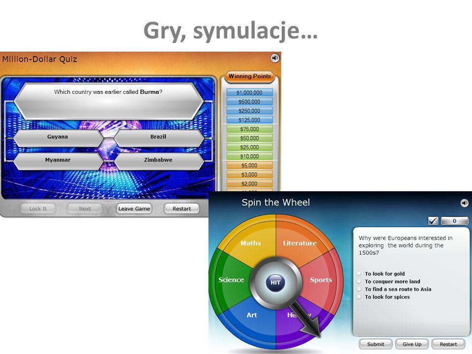 Gry, symulacje…
