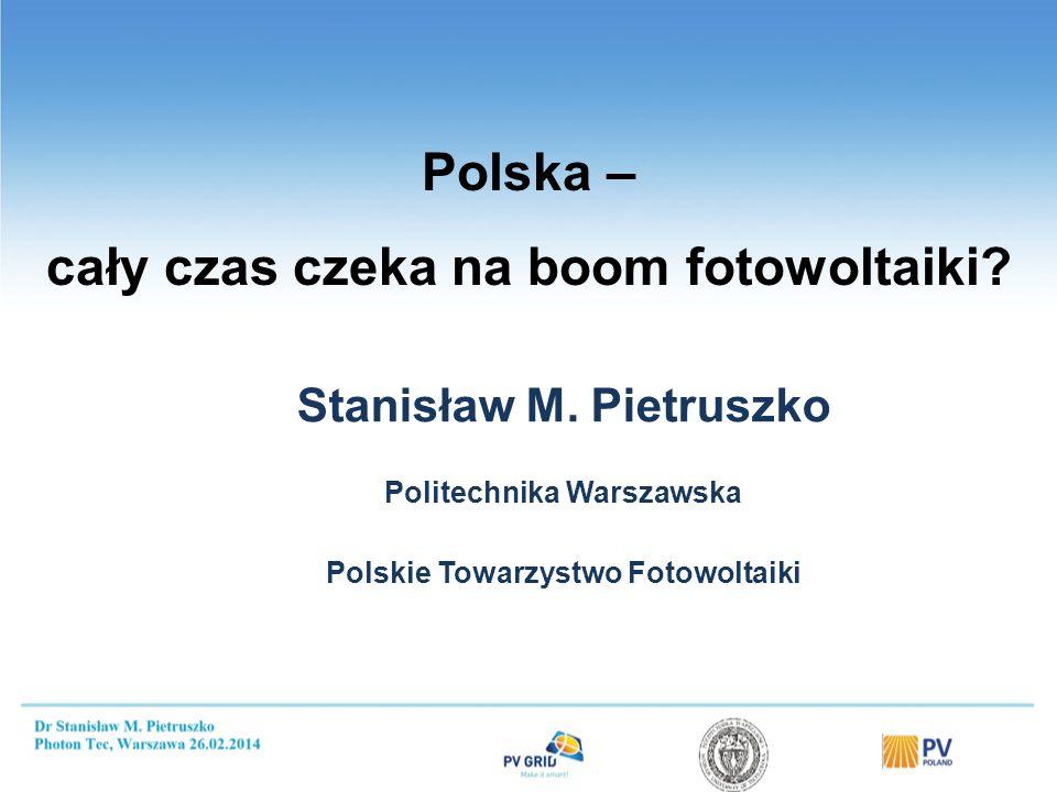 Nadchodzi era Słońca Prof. Maciej Nowicki.