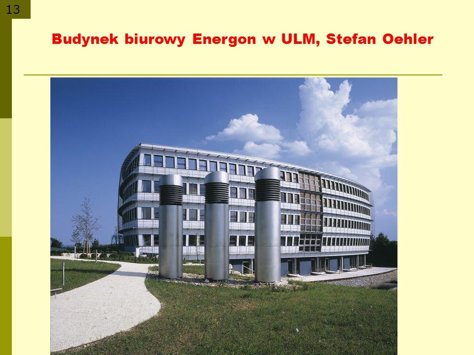 Budynek biurowy Energon w ULM, Stefan Oehler