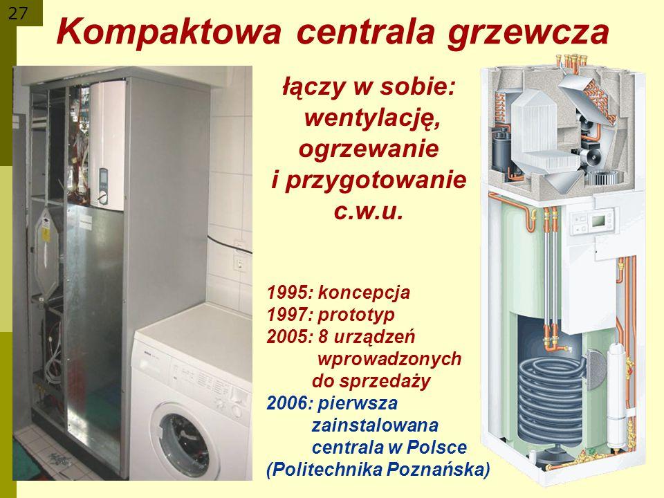 Kompaktowa centrala grzewcza