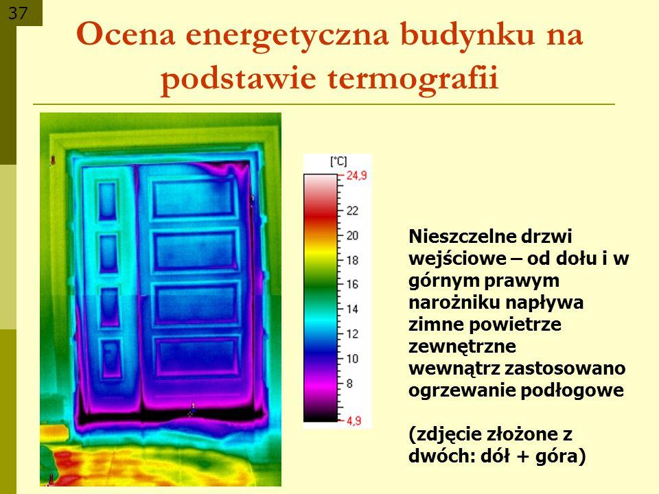 Ocena energetyczna budynku na podstawie termografii