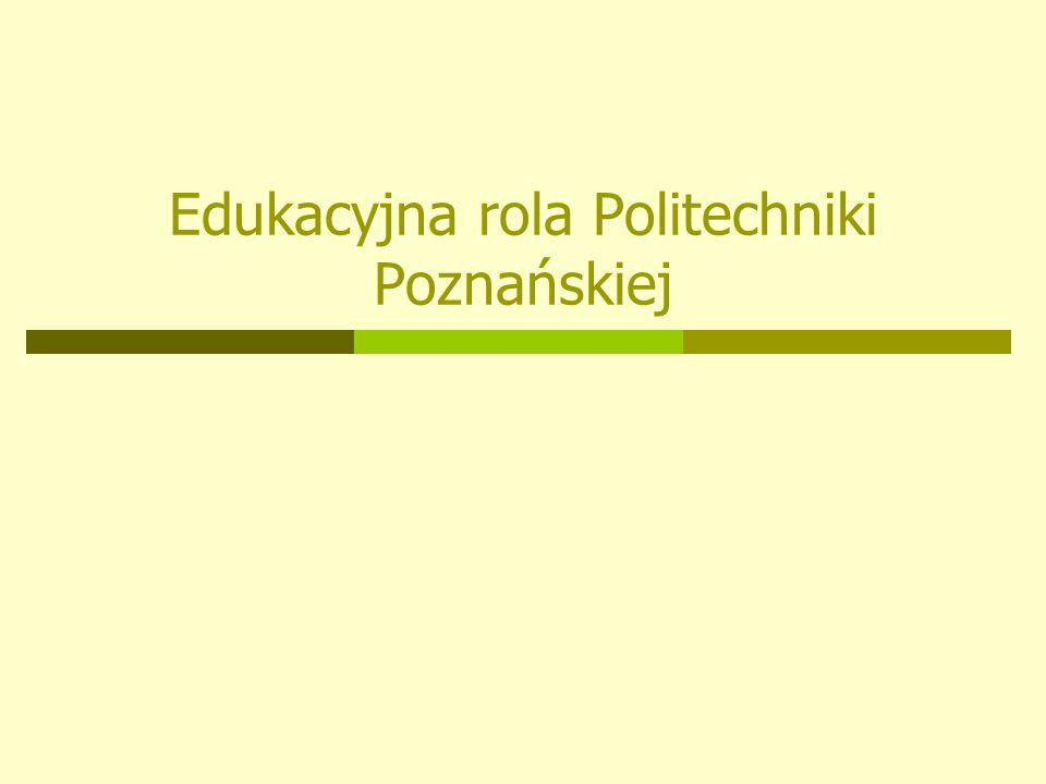 Edukacyjna rola Politechniki Poznańskiej