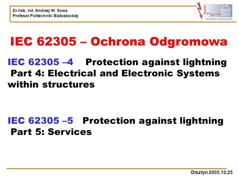 IEC 62305 – Ochrona Odgromowa