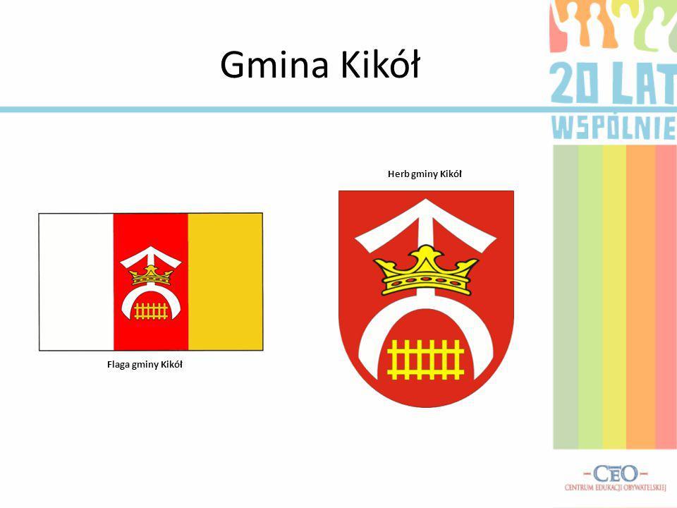 Gmina Kikół Flaga gminy Kikół Herb gminy Kikół