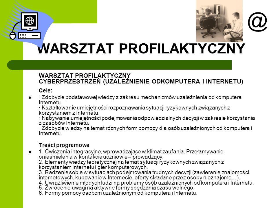 WARSZTAT PROFILAKTYCZNY
