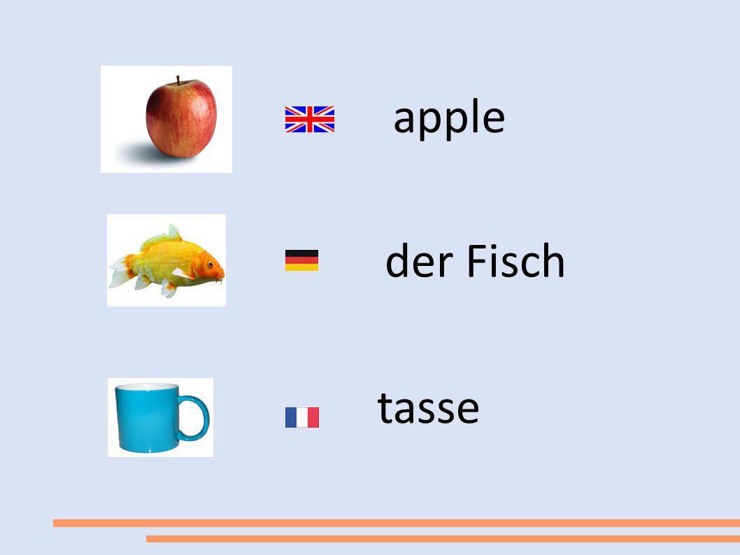 apple der Fisch tasse