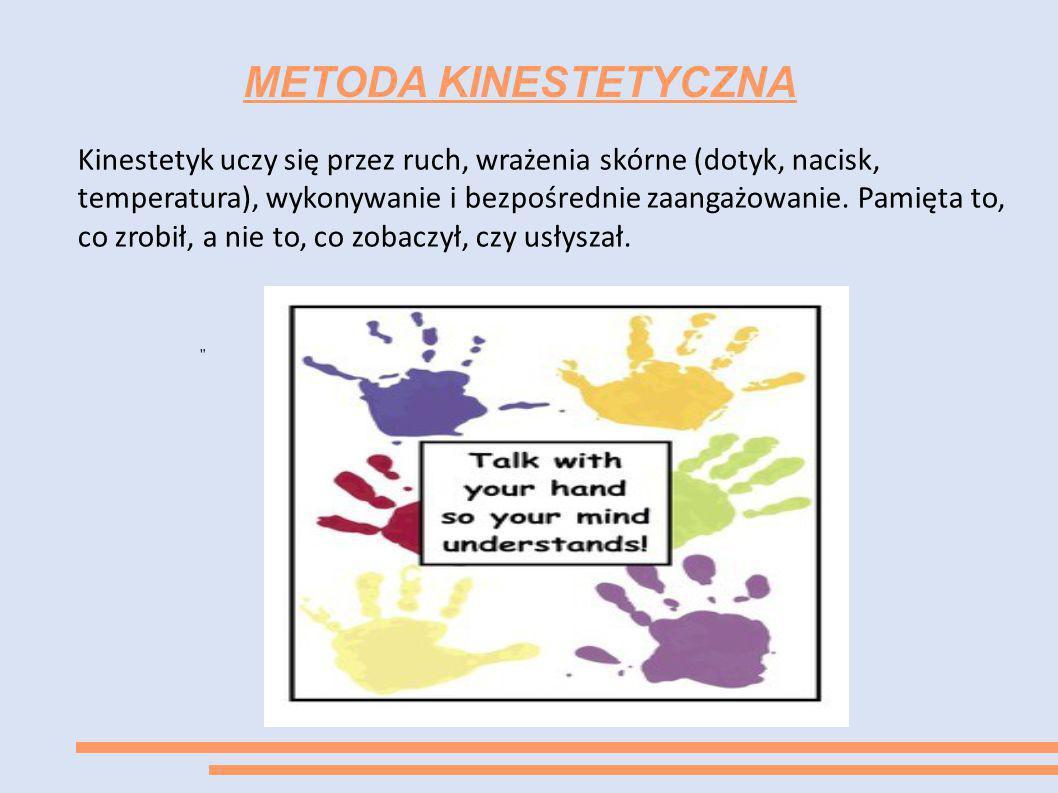 METODA KINESTETYCZNA