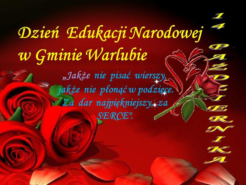 Dzień Edukacji Narodowej w Gminie Warlubie