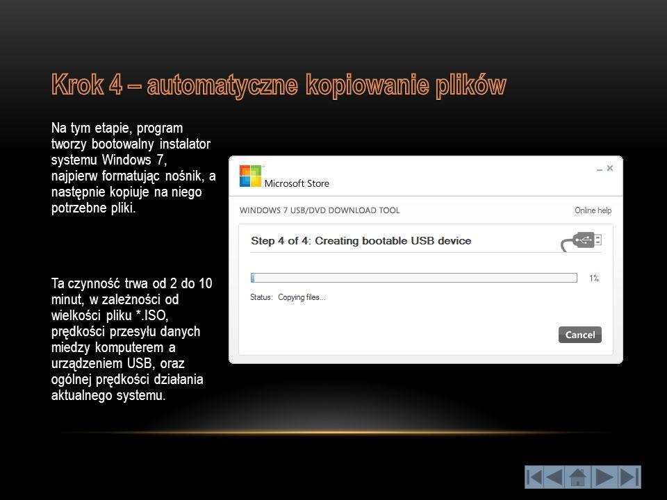 Krok 4 – automatyczne kopiowanie plików