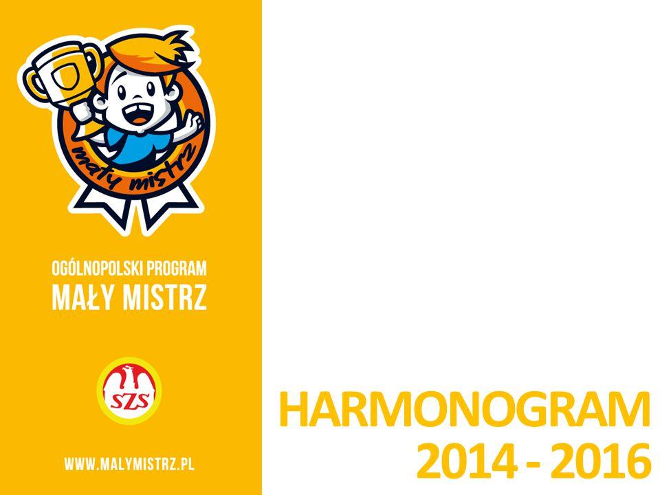 HARMONOGRAM 2014 - 2016