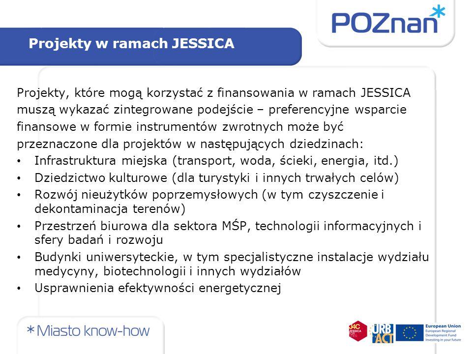 Projekty w ramach JESSICA