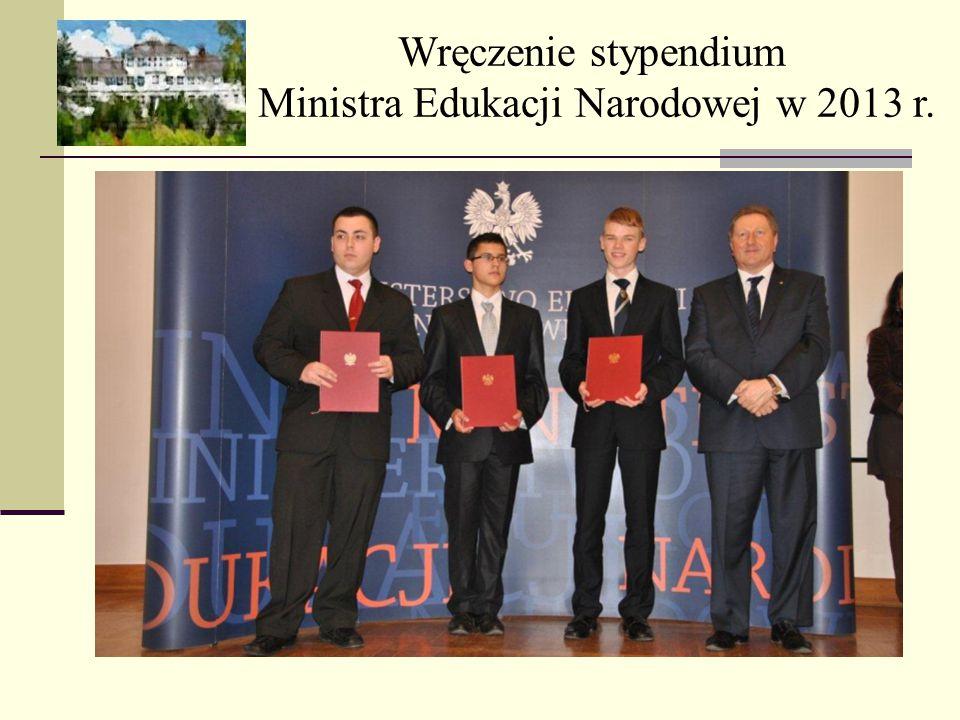 Ministra Edukacji Narodowej w 2013 r.