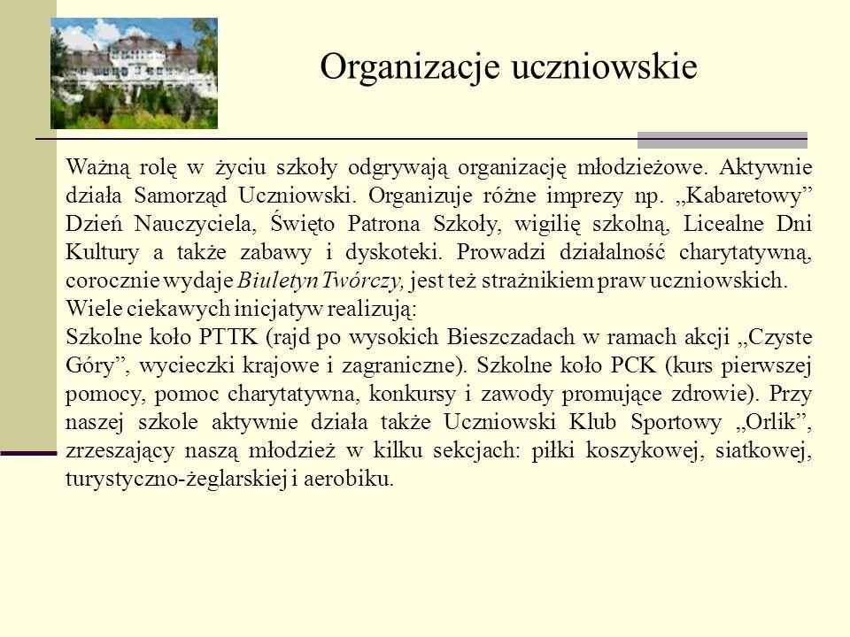Organizacje uczniowskie