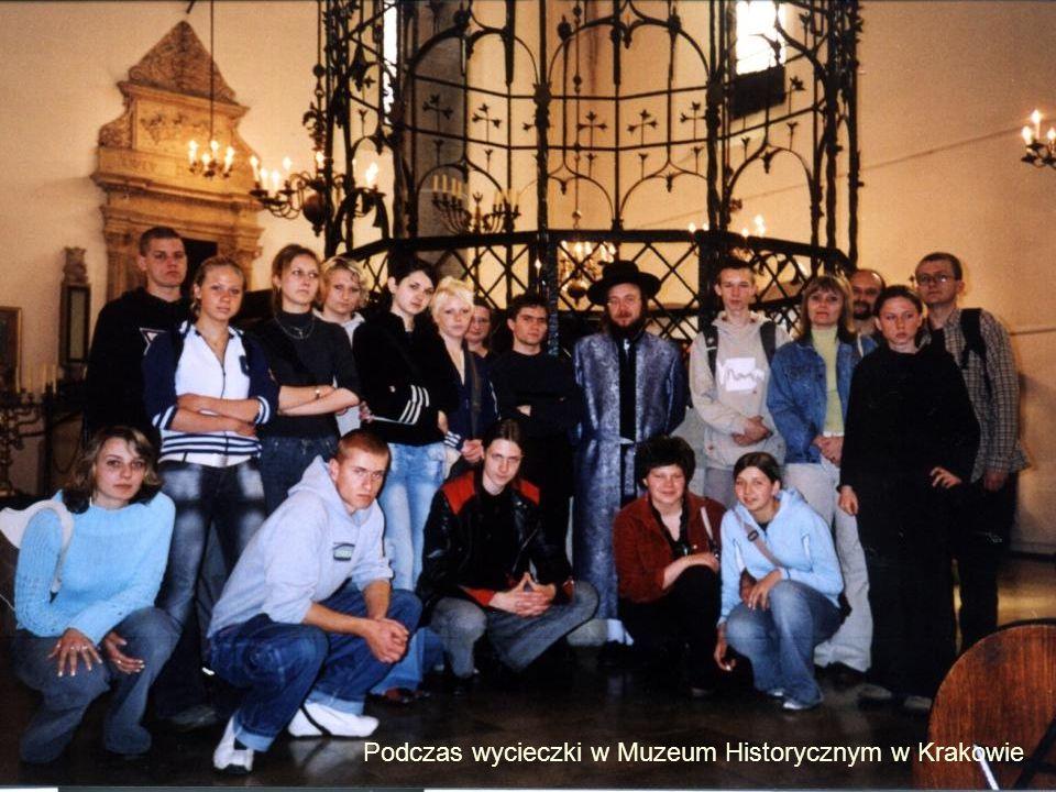 Podczas wycieczki w Muzeum Historycznym w Krakowie