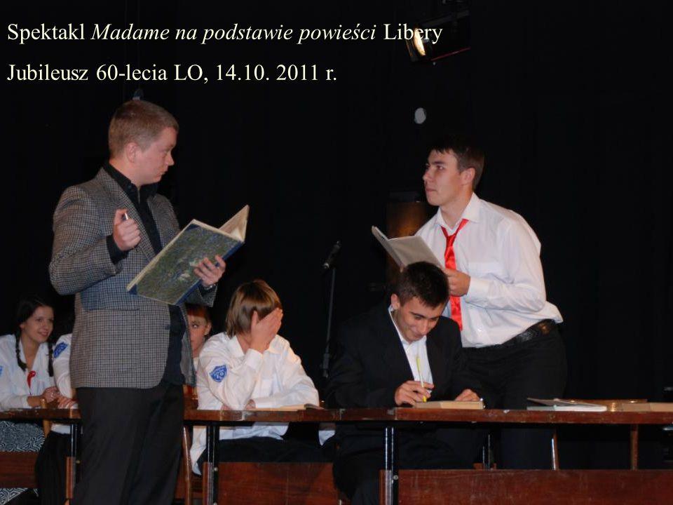Spektakl Madame na podstawie powieści Libery