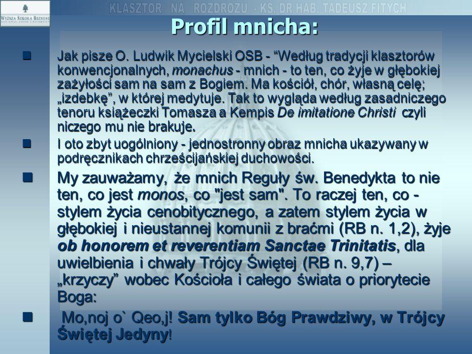 Profil mnicha: