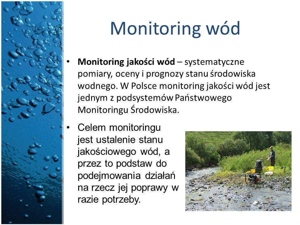 Monitoring wód