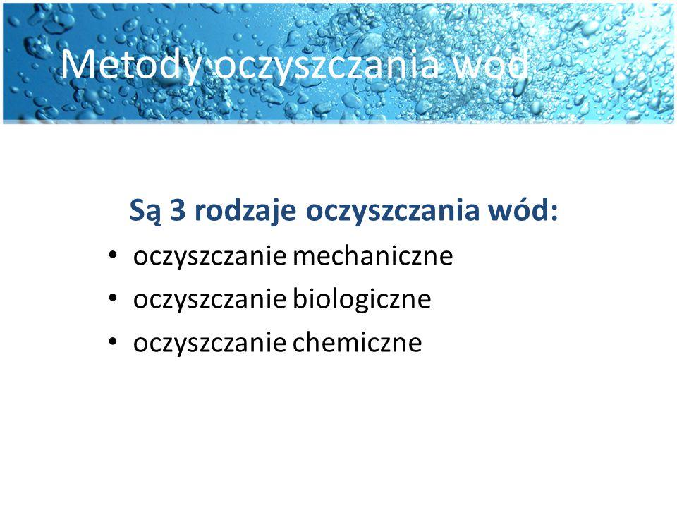 Metody oczyszczania wód