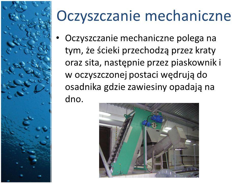 Oczyszczanie mechaniczne