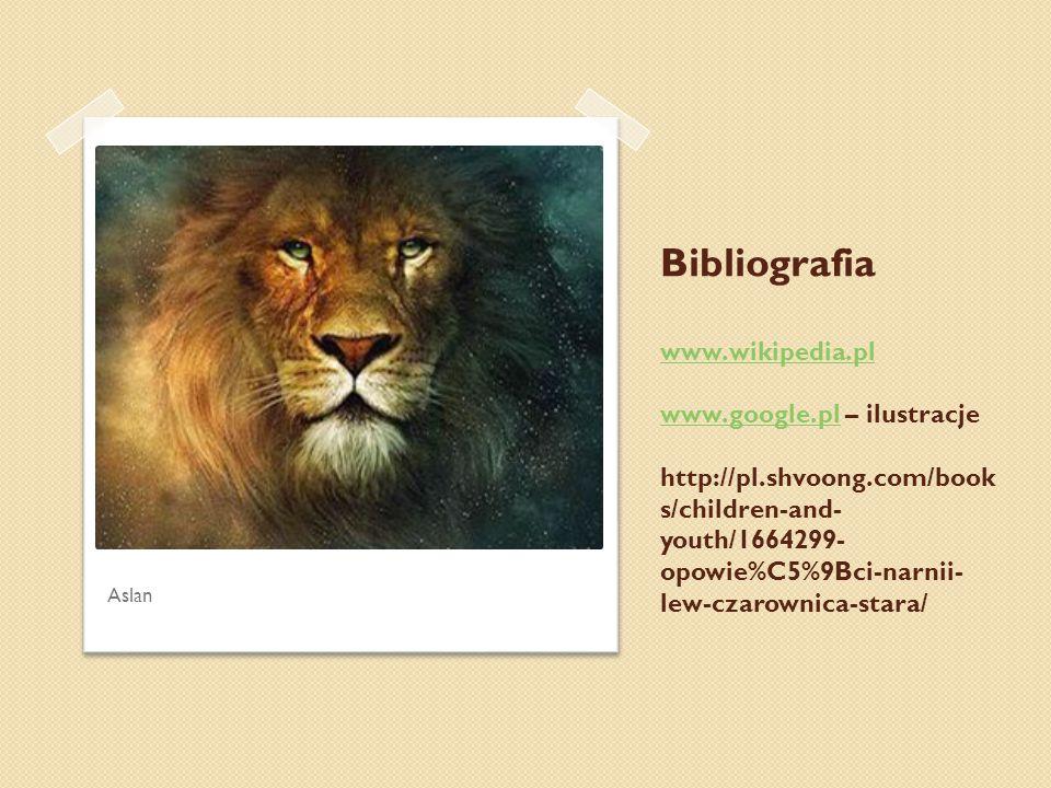 Bibliografia www. wikipedia. pl www. google. pl – ilustracje http://pl