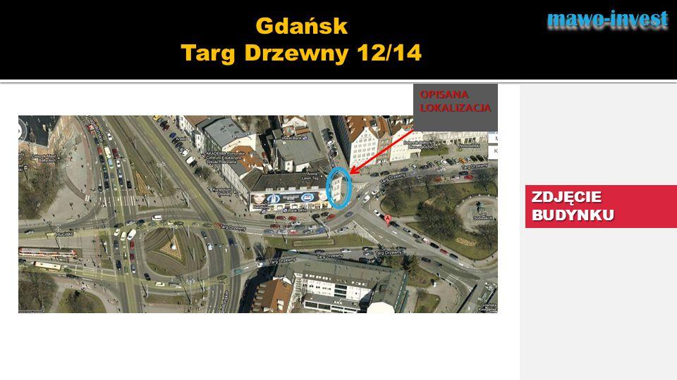 mawo-invest Gdańsk Targ Drzewny 12/14 ZDJĘCIE BUDYNKU OPISANA
