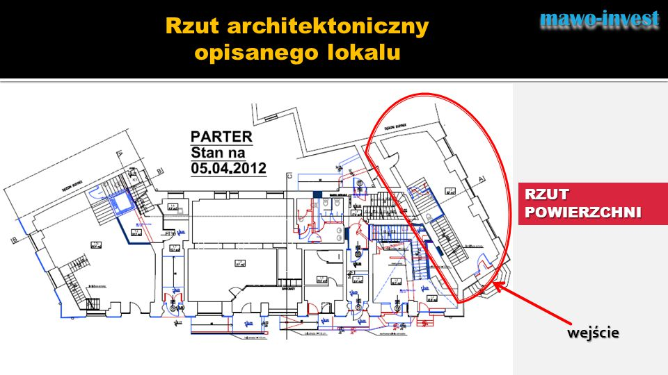 Rzut architektoniczny