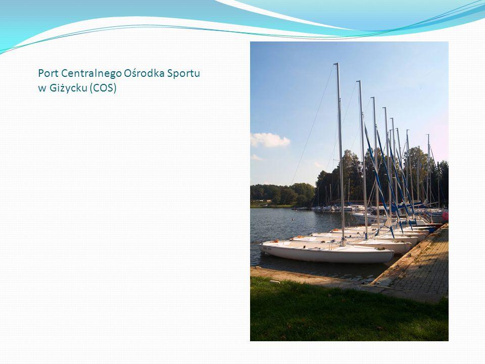 Port Centralnego Ośrodka Sportu w Giżycku (COS)