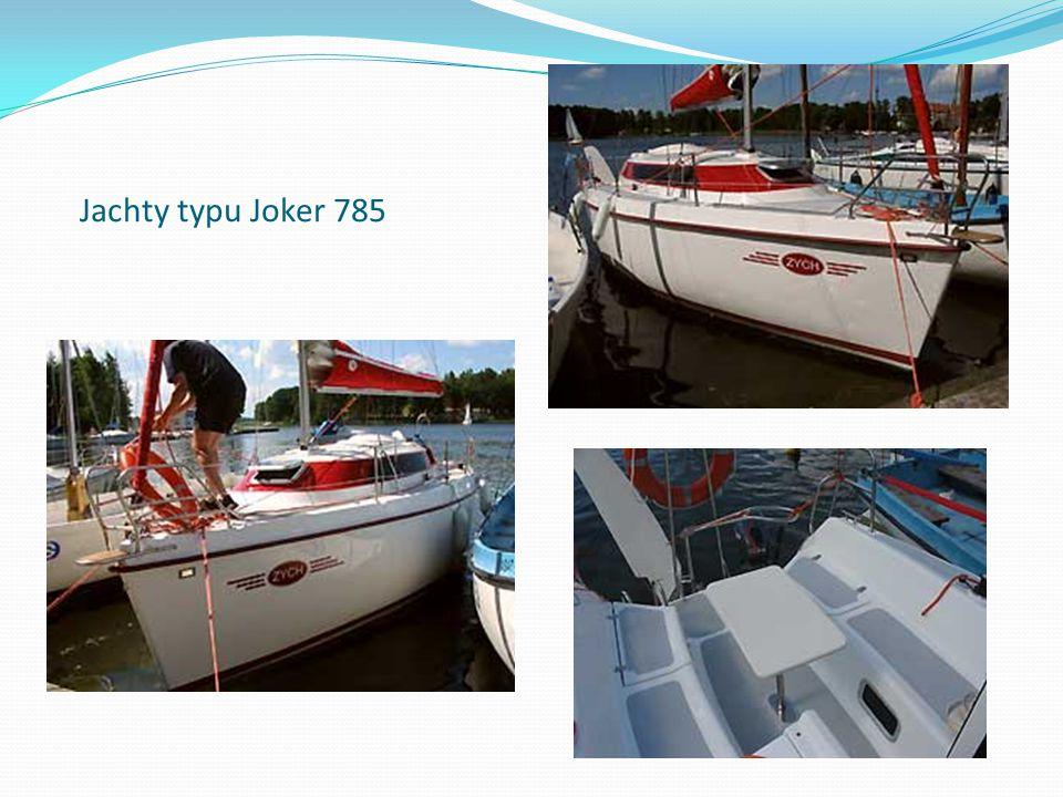 Jachty typu Joker 785