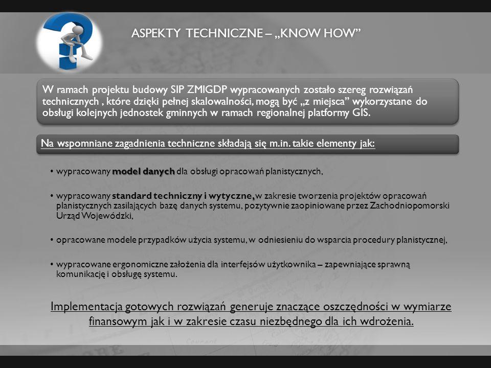 """Aspekty techniczne – """"know how"""