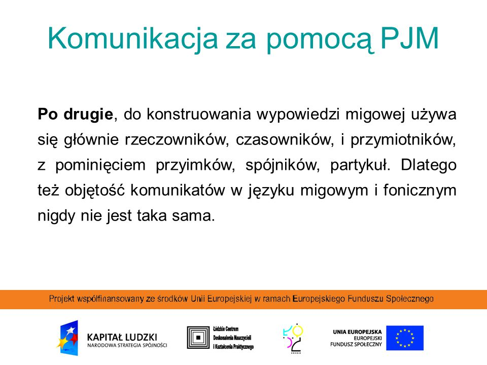Komunikacja za pomocą PJM