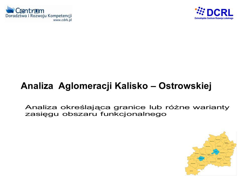 Analiza Aglomeracji Kalisko – Ostrowskiej