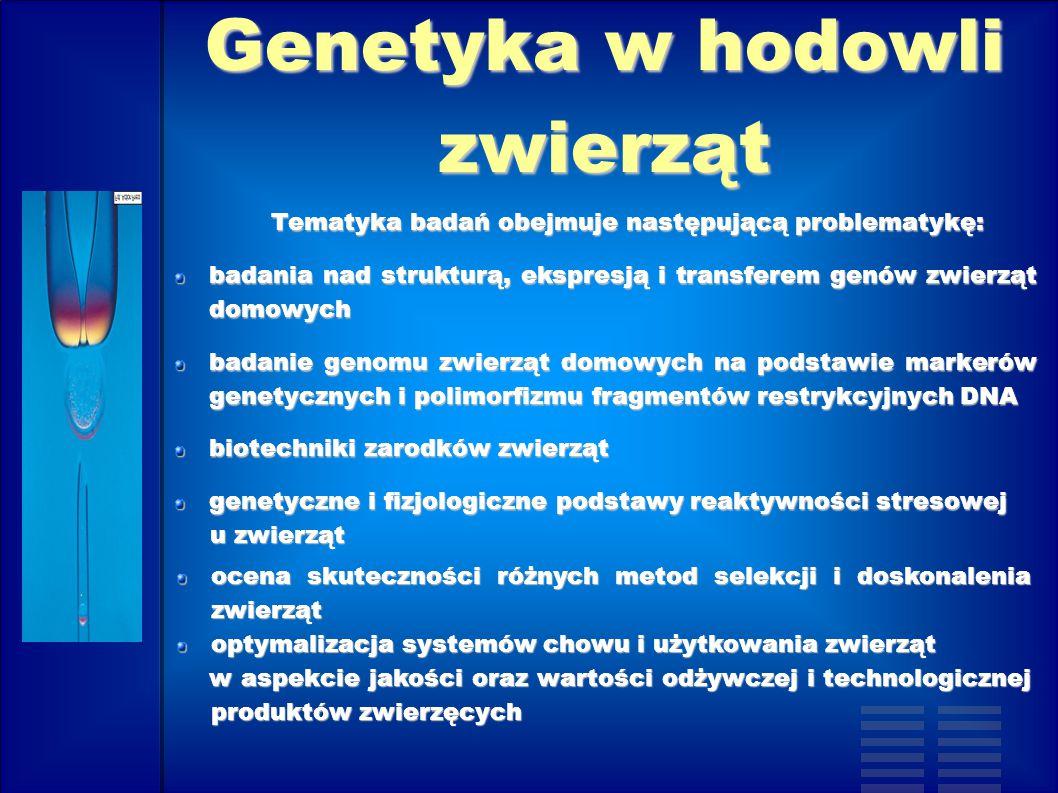 Genetyka w hodowli zwierząt