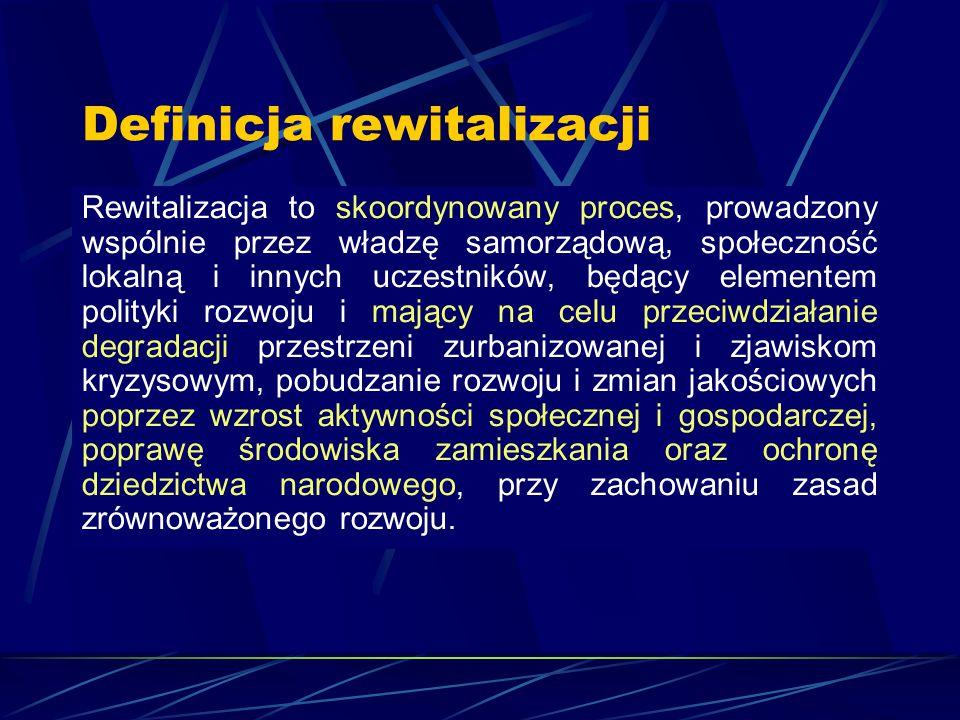 Definicja rewitalizacji
