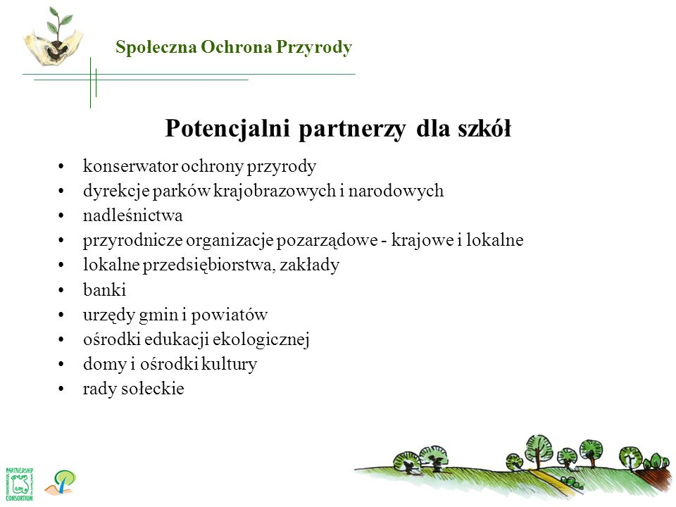 Potencjalni partnerzy dla szkół