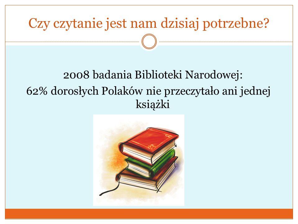 Czy czytanie jest nam dzisiaj potrzebne