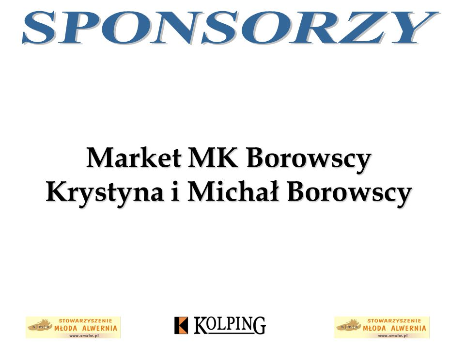 Market MK Borowscy Krystyna i Michał Borowscy
