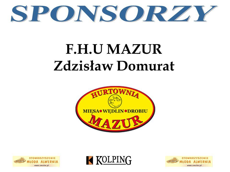 F.H.U MAZUR Zdzisław Domurat