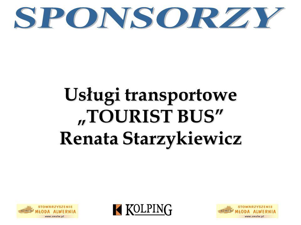 """Usługi transportowe """"TOURIST BUS Renata Starzykiewicz"""