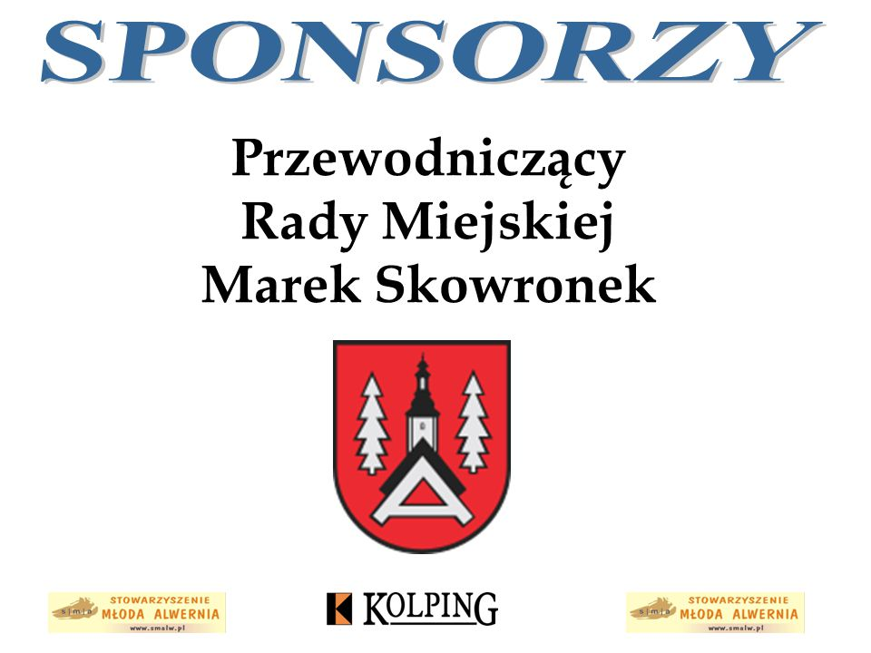 Przewodniczący Rady Miejskiej Marek Skowronek