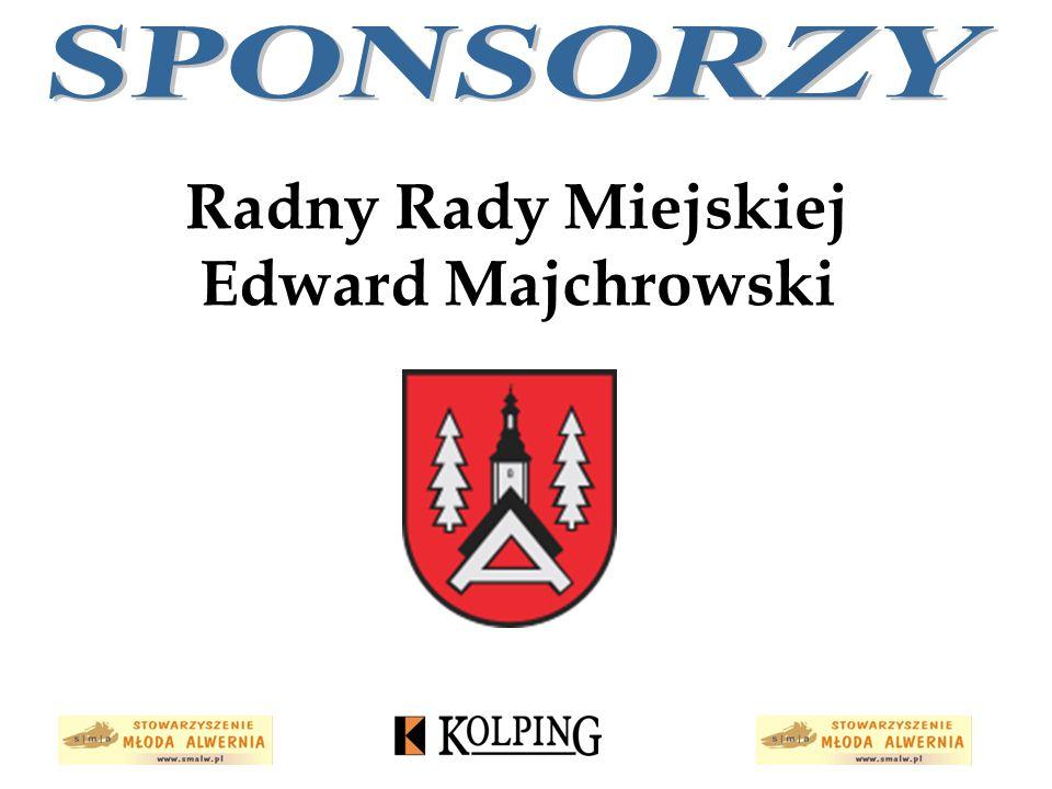 Radny Rady Miejskiej Edward Majchrowski
