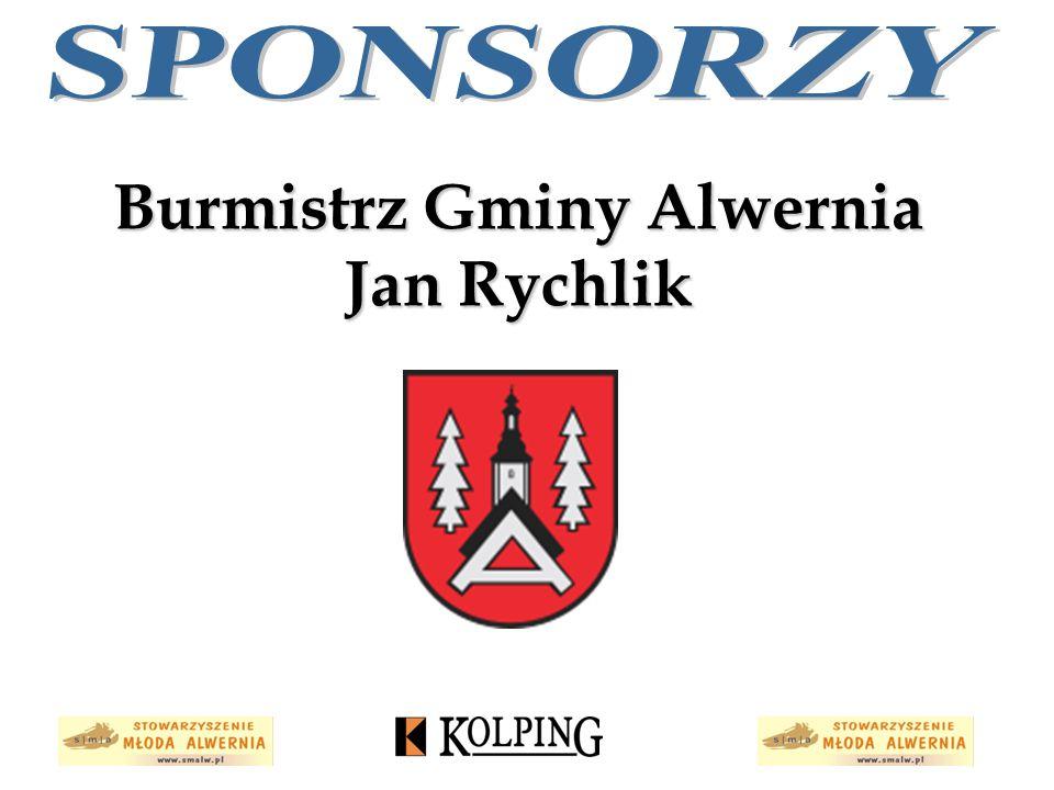 Burmistrz Gminy Alwernia Jan Rychlik