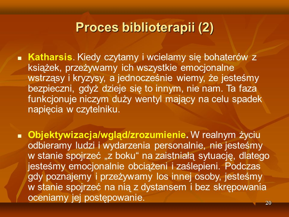 Proces biblioterapii (2)