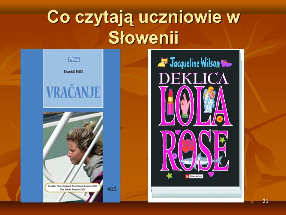 Co czytają uczniowie w Słowenii